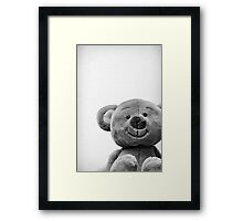 Can I be your bear cub? Framed Print