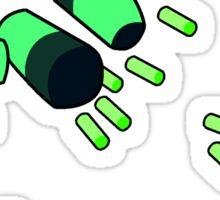 Peridot Limb Enhancers Sticker
