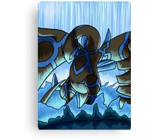Earthbound Immortal Dark Lugia remake2016 Canvas Print