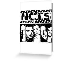 NCIS fan design  Greeting Card