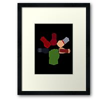 Ok Team.....on 3 Framed Print