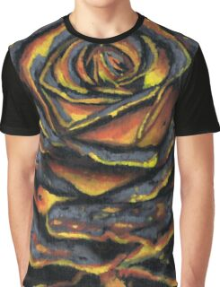 BURNING ROSE #1 Graphic T-Shirt
