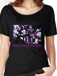 THE REAL PULP FICTION HEROES Women's Relaxed Fit T-Shirt