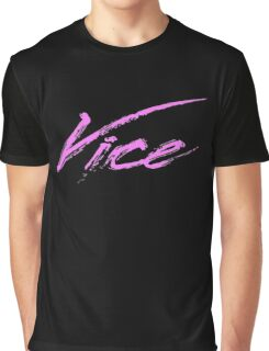 Vice - 80s Graphic T-Shirt