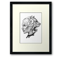 Double soul Framed Print