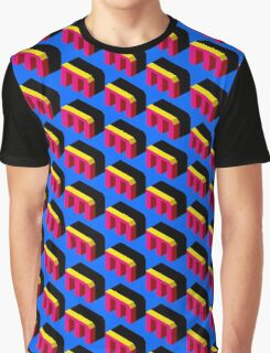 Letter M Isometric Graphic Graphic T-Shirt