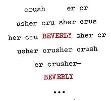 typewriter beverly by mugs-munny