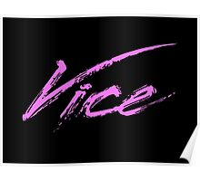 Vice - 80s Poster