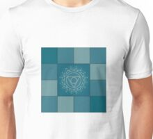 Patchwork - throat chakra Unisex T-Shirt