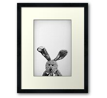 Can I be your bunny? Framed Print