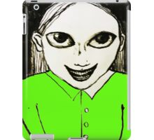 Evil Genius Child iPad Case/Skin