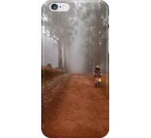 UP CLOSE: THE  BICYCLE MAN AND THE LANTERN iPhone Case/Skin