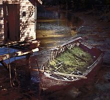 Derelict Boat at Whiskey Cove by Yukondick