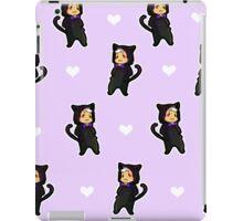 cat shiro: voltorn grid iPad Case/Skin