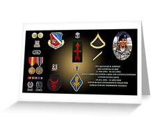Kenneth M Koepke's Military Memorial Greeting Card