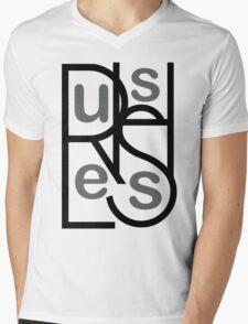 Rush Less Mens V-Neck T-Shirt