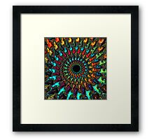 Kaleidoscope - Fractal Art - Square Framed Print