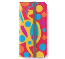 Colorful decor iPhone Wallet/Case/Skin