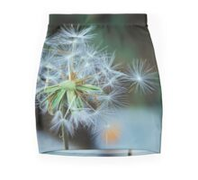 Retro Dandelion Seeds Mini Skirt