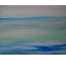 Drifting - original Seascape Watercolour by Margaret Harker for Silver Falcon Arts Photographic Print