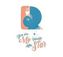 You are My Twinkle Little Star Photographic Print