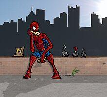 Even SuperHeroes Need McDonalds by SpookyLuke