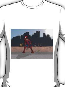 Even SuperHeroes Need McDonalds T-Shirt