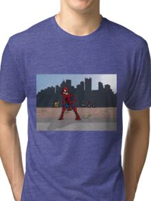 Even SuperHeroes Need McDonalds Tri-blend T-Shirt