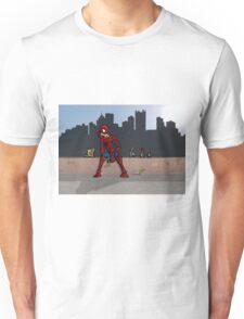 Even SuperHeroes Need McDonalds Unisex T-Shirt
