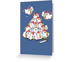 Fluffy Vengeance Greeting Card