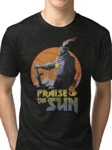 SUNBRO Praise the Sun  Tri-blend T-Shirt