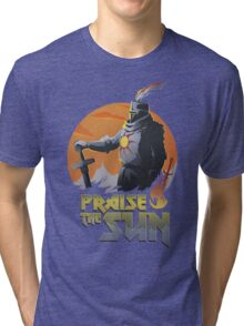 SUNBRO Praise the Sun  Tri-blend T-Shirt