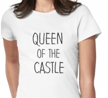 Queen of the Castle Seinfeld quote Womens Fitted T-Shirt