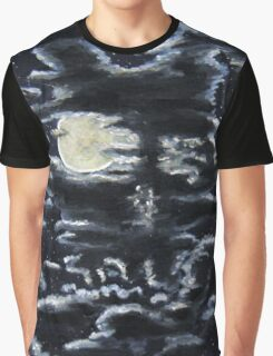 Twisted Skull Bunny in the Sky Graphic T-Shirt