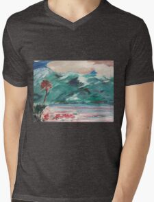 In Spring- Original Oil Painting by Margaret Harker for Silver Falcon Arts Mens V-Neck T-Shirt