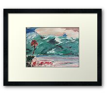 In Spring- Original Oil Painting by Margaret Harker for Silver Falcon Arts Framed Print