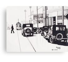 Classic Hollywood 1920s Canvas Print