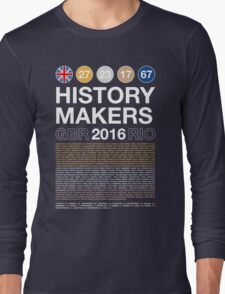 History Makers GB 2016 Long Sleeve T-Shirt