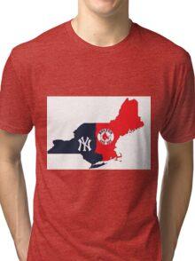 MLB Rivalry Map Tri-blend T-Shirt
