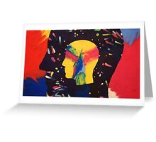 Tame Impala - Feels Like We Only Go Backwards Art Greeting Card