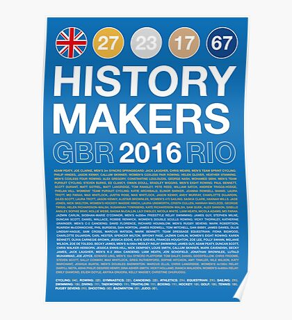 History Makers GB 2016 Poster