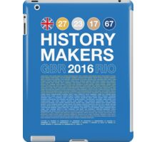 History Makers GB 2016 iPad Case/Skin