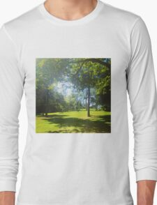 Trees, park Long Sleeve T-Shirt