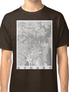 Sydney Map Line Classic T-Shirt