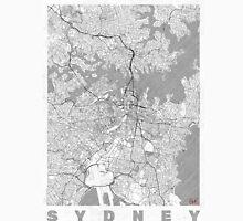 Sydney Map Line Unisex T-Shirt