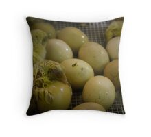 Chickens Hatching Throw Pillow