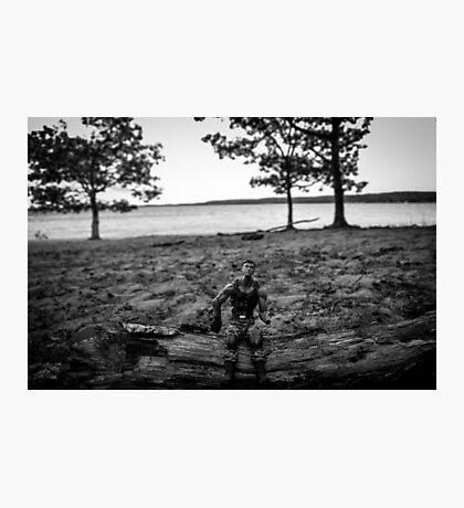 G. I. Joe at the Beach Photographic Print