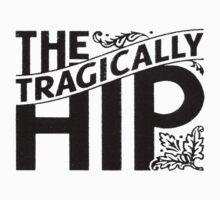 The Tragically Hip Black Kids Tee