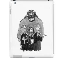 Strolling Through Hogwarts Halls iPad Case/Skin