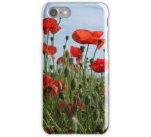 Over the Poppy Fields & Far Away iPhone Case/Skin